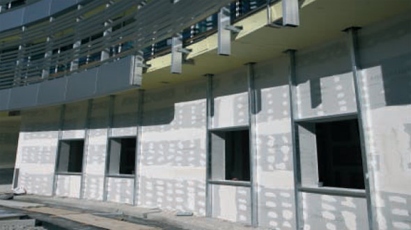 Tamponature esterne a secco per strutture in acciaio – Confortevole ...