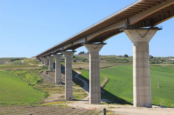 Serra Cazzola Viadotto