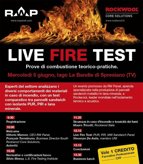 Locandina Live Fire Test